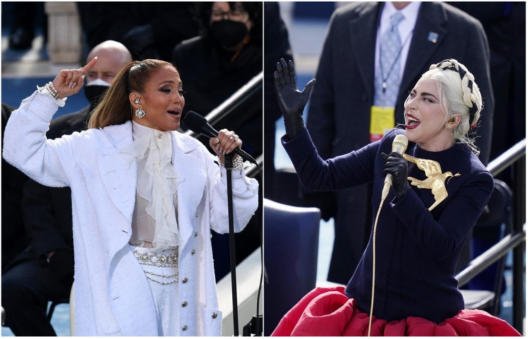 Lady Gaga y Jennifer López: atuendos que instan a la paz en EE. UU. -  Diario El Salvador